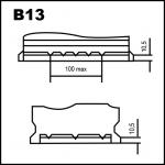 talonera b13